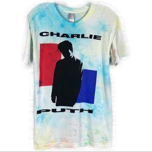 Charlie Puth graphic T-shirt